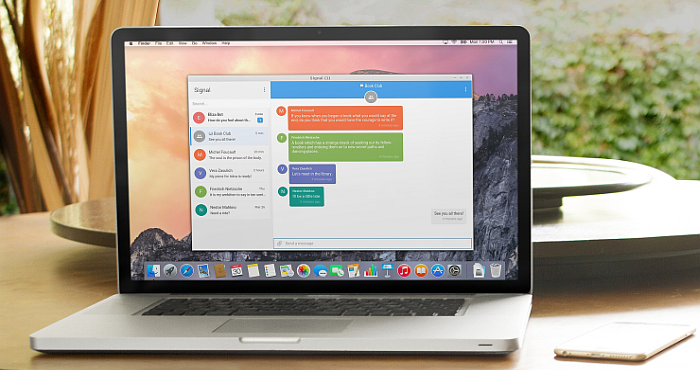 Signal Messaging App is now available for Desktop